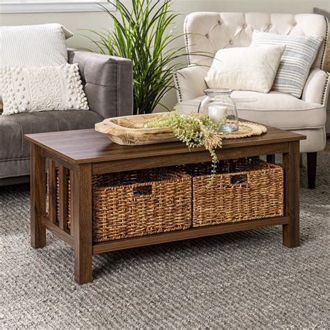 Coffee Table With Storage Image
