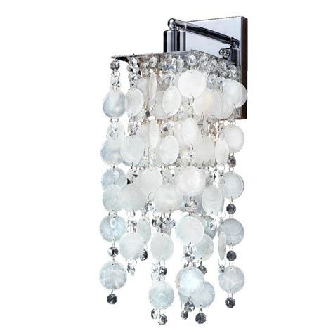 Cohen-Arazi Capiz Shell 1-Light Bath Sconce