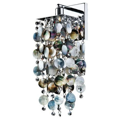 Cohen-Arazi Mother of Pearl 1-Light Armed Sconce