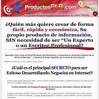 Coleccion de productos plr o con derechos de marca privada scam