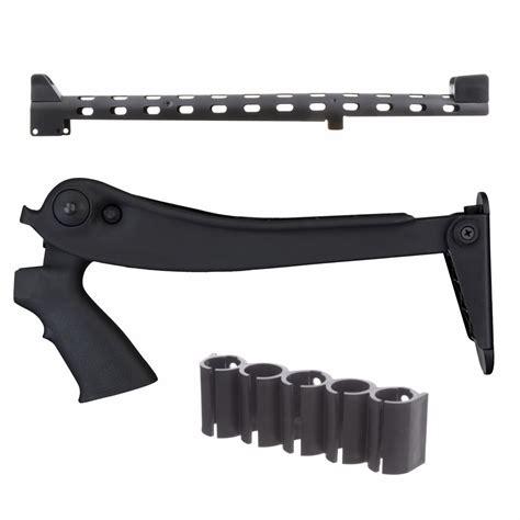 Collapsible Shotgun Stock With Pistol Grip