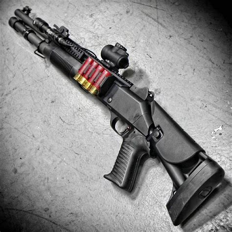 Collapsible Stock For Benelli M4 Shotgun