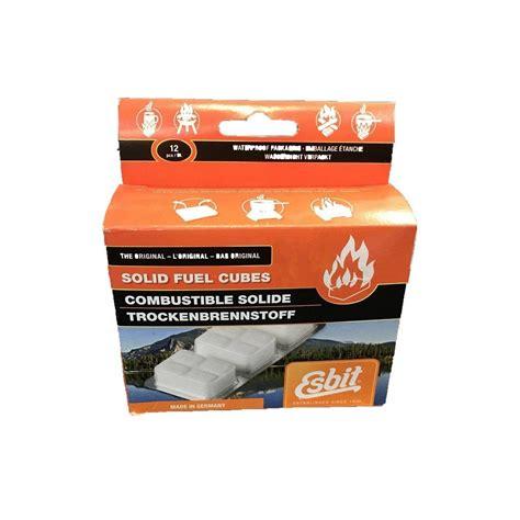 Colonel Mustard Esbit Hexamine Solid Fuel Cubes