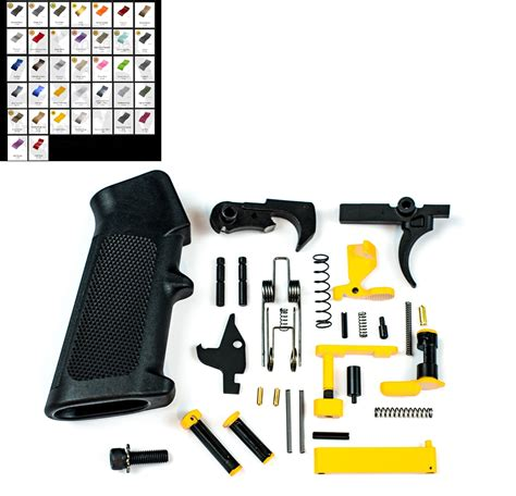 Color Coded Ar 15 Parts Kit