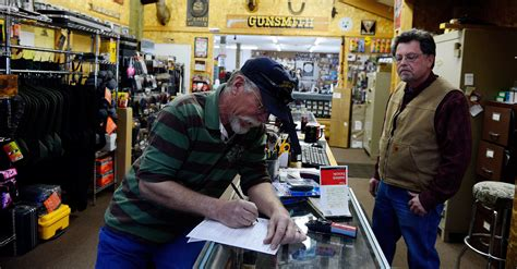 Gun-Store Colorado Gun Store Has To Do Background Check Through Federal.
