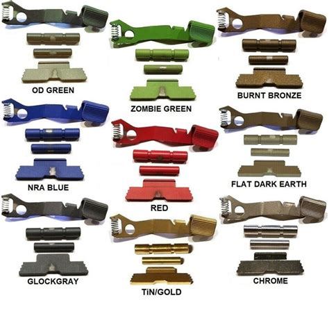 Colored Glock Parts