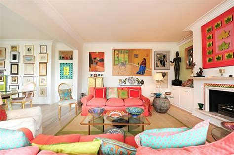 Colorful Contemporary Living Room Designs