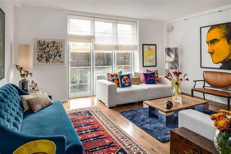 Colorful Modern Living Room Design