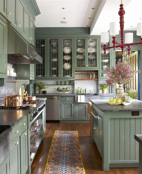 Colors Green Kitchen Ideas