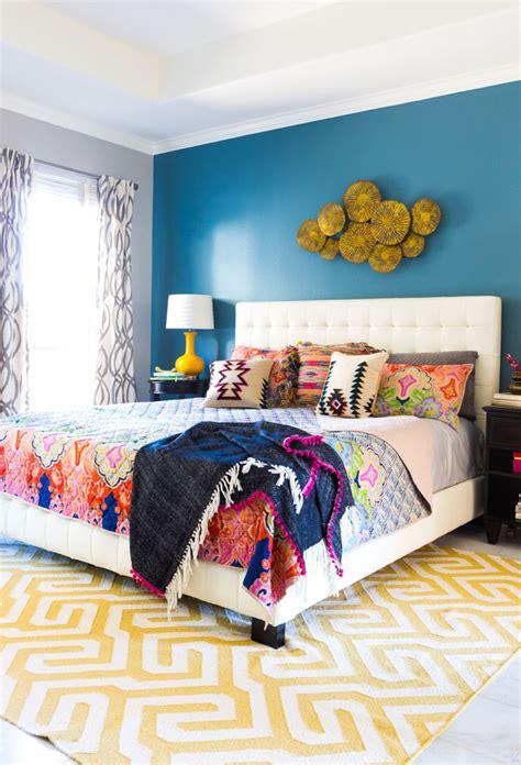 Colourful Bedroom Ideas