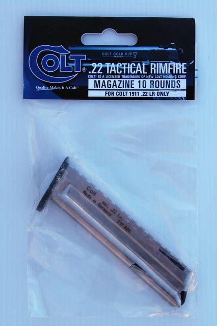 Colt 1911 22 Gold Cup Magazines