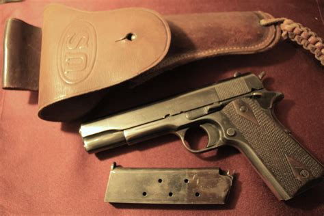 Colt 1911 Army Issue Serial Numbers