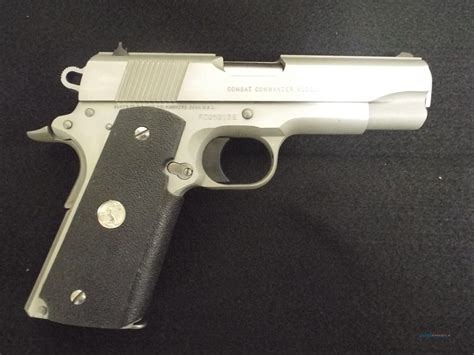 Colt 1911 Combat Commander Stainless