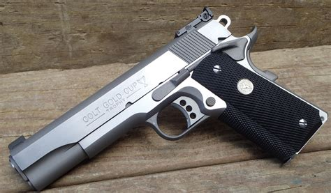 Colt 1911 Gold Cup Trophy Pistol 45 ACP 5in 8rd Stainless