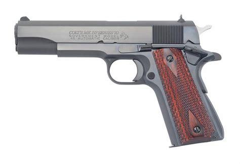 Colt 1911 Government 70 Trigger Short Blue Grooved