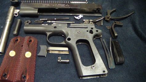 Colt 1911 Government Model Disassembly