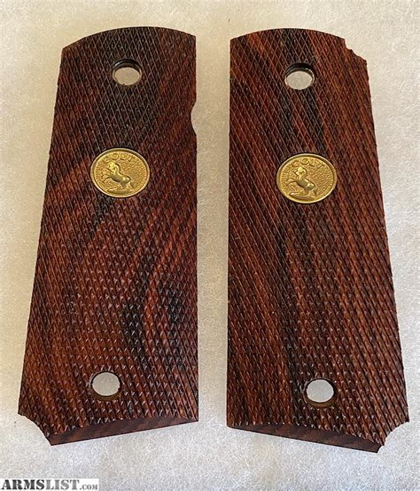 Colt 1911 Grips For Sale