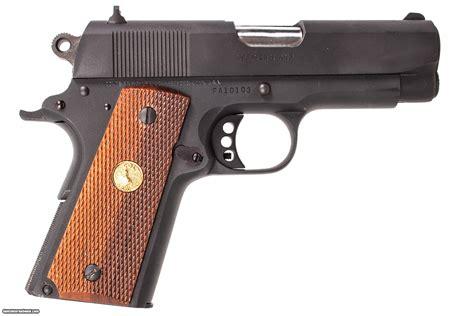 Colt 1911 Officers Model 45 Acp