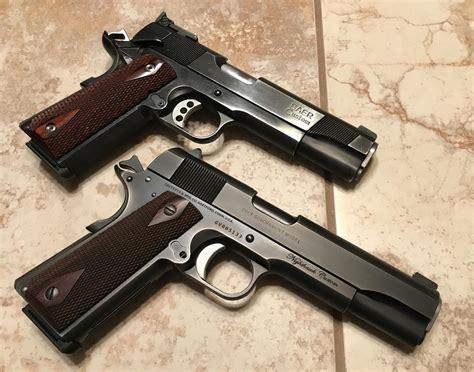 Colt 1911 Old Vs New