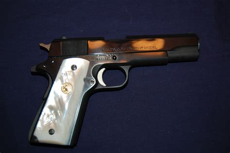 Colt 1911 Pearl Grips