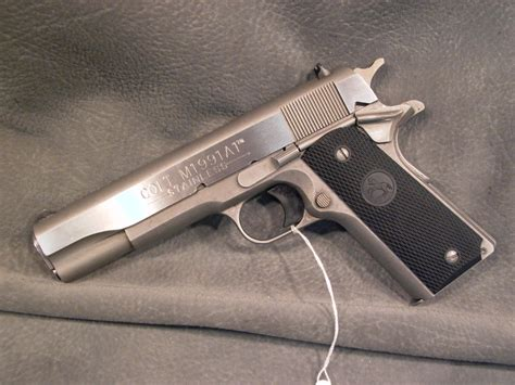 Colt 1911 Series 80 Stainless