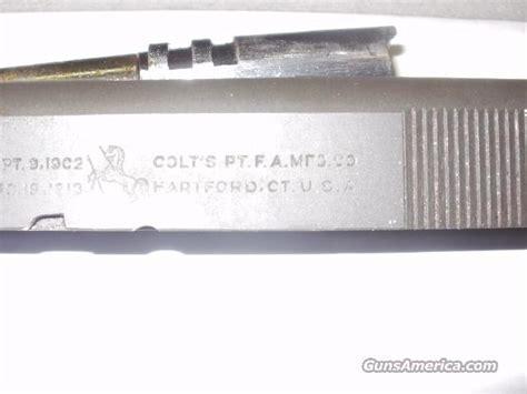 Colt 1911 Slide M1911 A1 U S Army Componen For Sale
