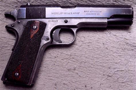 Colt 1911 Slide Markings