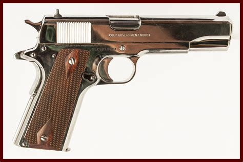 Colt 1911 What Type Of Firearm