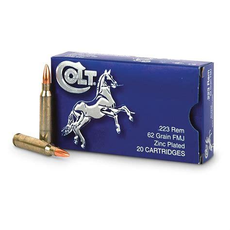 Colt 223 Zinc Ammo