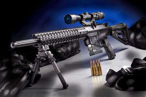 Rifle Colt 308 Sniper Rifle.