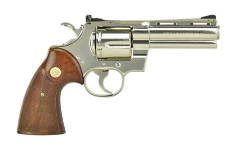 Colt 357 Magnum Revolver For Sale