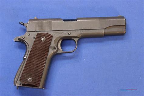 Colt 45 1911 Military