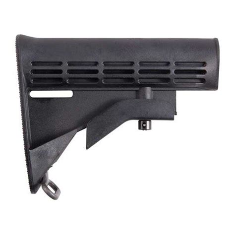 Colt Ar15 Stock Assy Collapsible Oem Blk Brownells And Compensators Muzzle Brakes Muzzle Devices At Brownells
