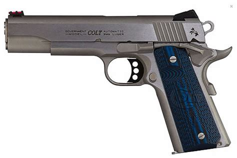 Colt Competition 1911 Stainless 9mm