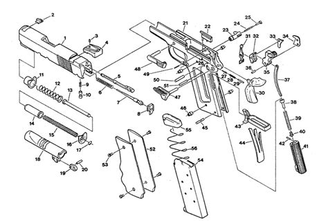 Colt Defender Parts Schematic Gun Parts Corp