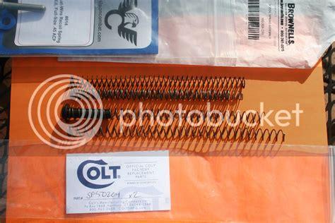 Colt Dual Recoil Springs 1911forum