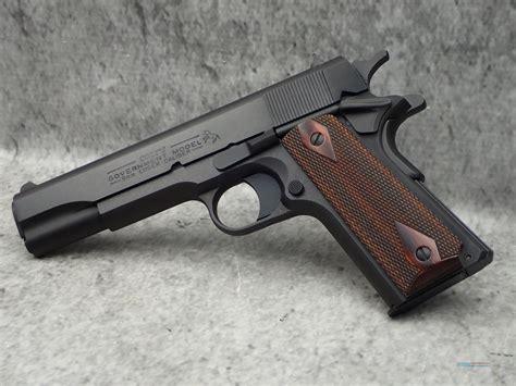 Colt O1992 Government Colt 1911 Pistol 9mm 5in 9rd Black