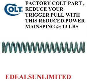 Colt Officers 45acp Mdl 20lb Reduced Power Mainspring