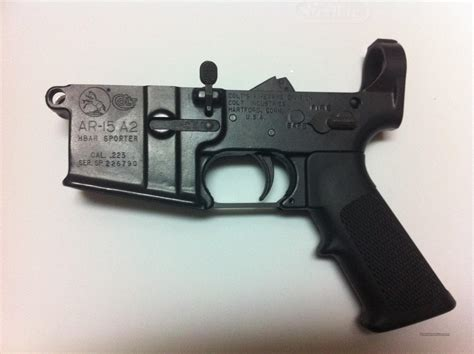 Colt Pre Ban Ar 15 Lower Receiver For Sale