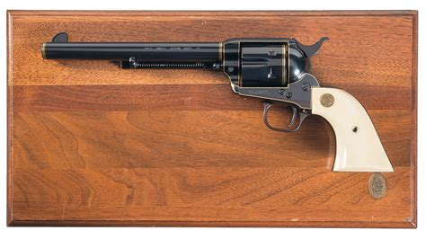 Colt Single Action Army Revolver 3rd Generation