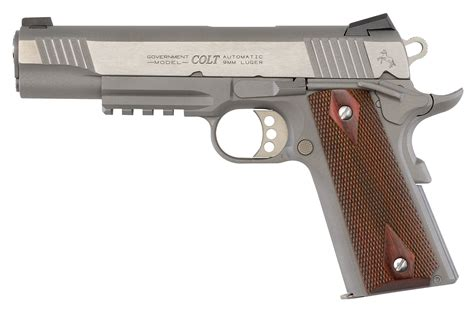 Colt Stainless Steel 1911 With Rail