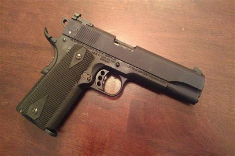 Colt Walther 1911 Gold Cup 22 Lr Review Modern Rifleman
