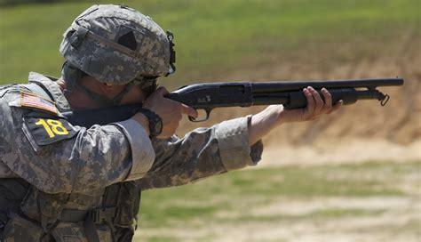 Combat Shotgun Shooting
