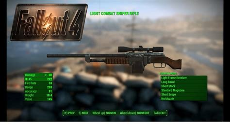 Combat Sniper Rifle Fallout 4