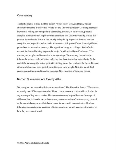 commentary essay example students often struggle what to  commentary essay sample samples essays and commentary commentary essay example