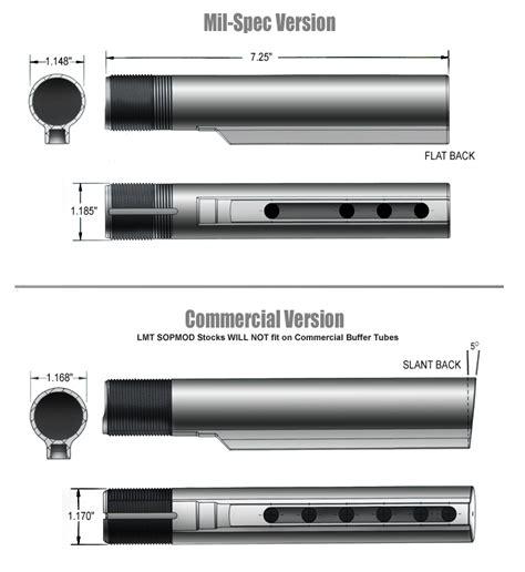 Commercial Or Milspec Buffer Tube