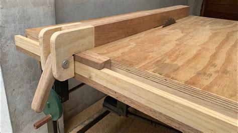 Como hacer guia para sierra de mesa Image