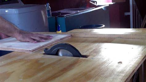 Como hacer una mesa de sierra circular casera Image
