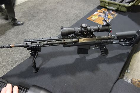 Compact Light Weight Suppressed Hunting Rifle