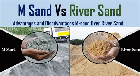 Comparing Manufactured Sand Vs River Sand